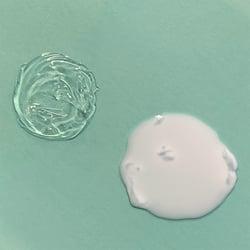 Twincraft's Gel Cleanser in gel and milk states