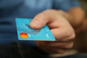 credit card money shopping