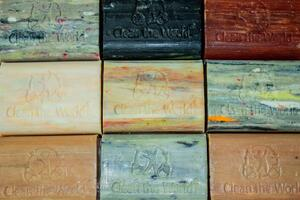 Clean the World - finished soaps