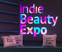 New York City's Indie Beauty Expo 2018 welcome sign