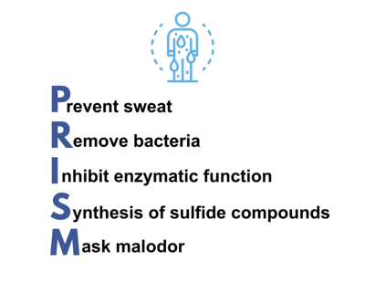 PRISM approach to body odor control