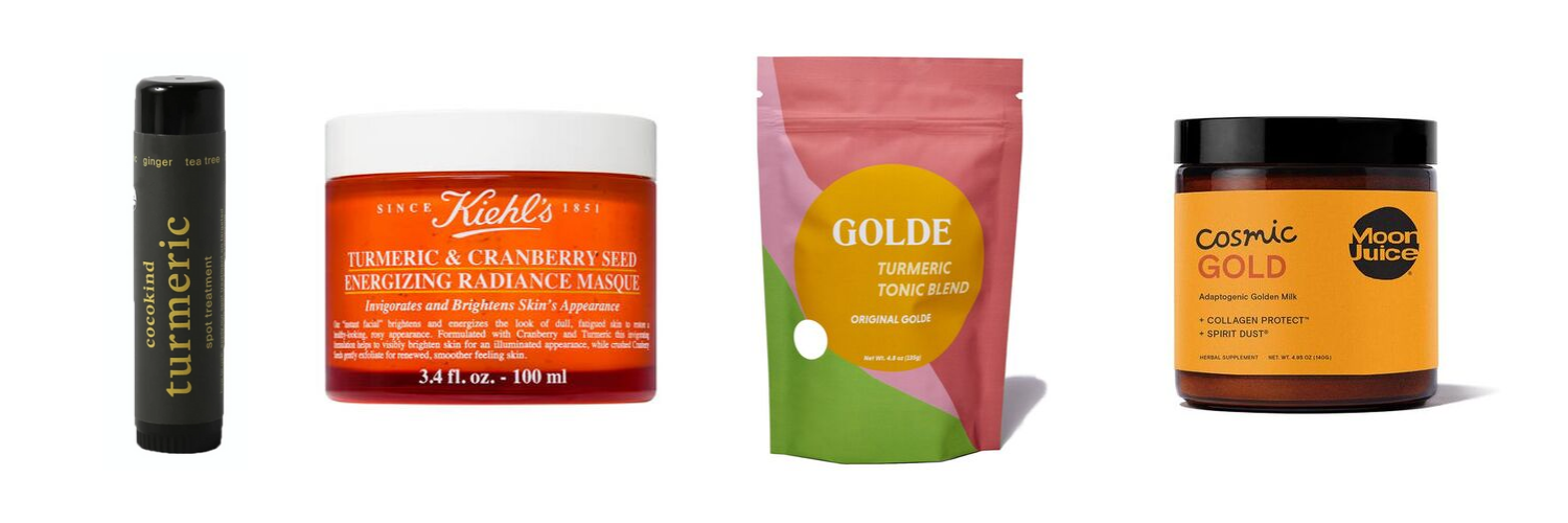 Turmeric Wellness Products