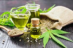 cbd hemp oil seeds powder-1