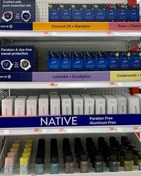 deodorant end cap