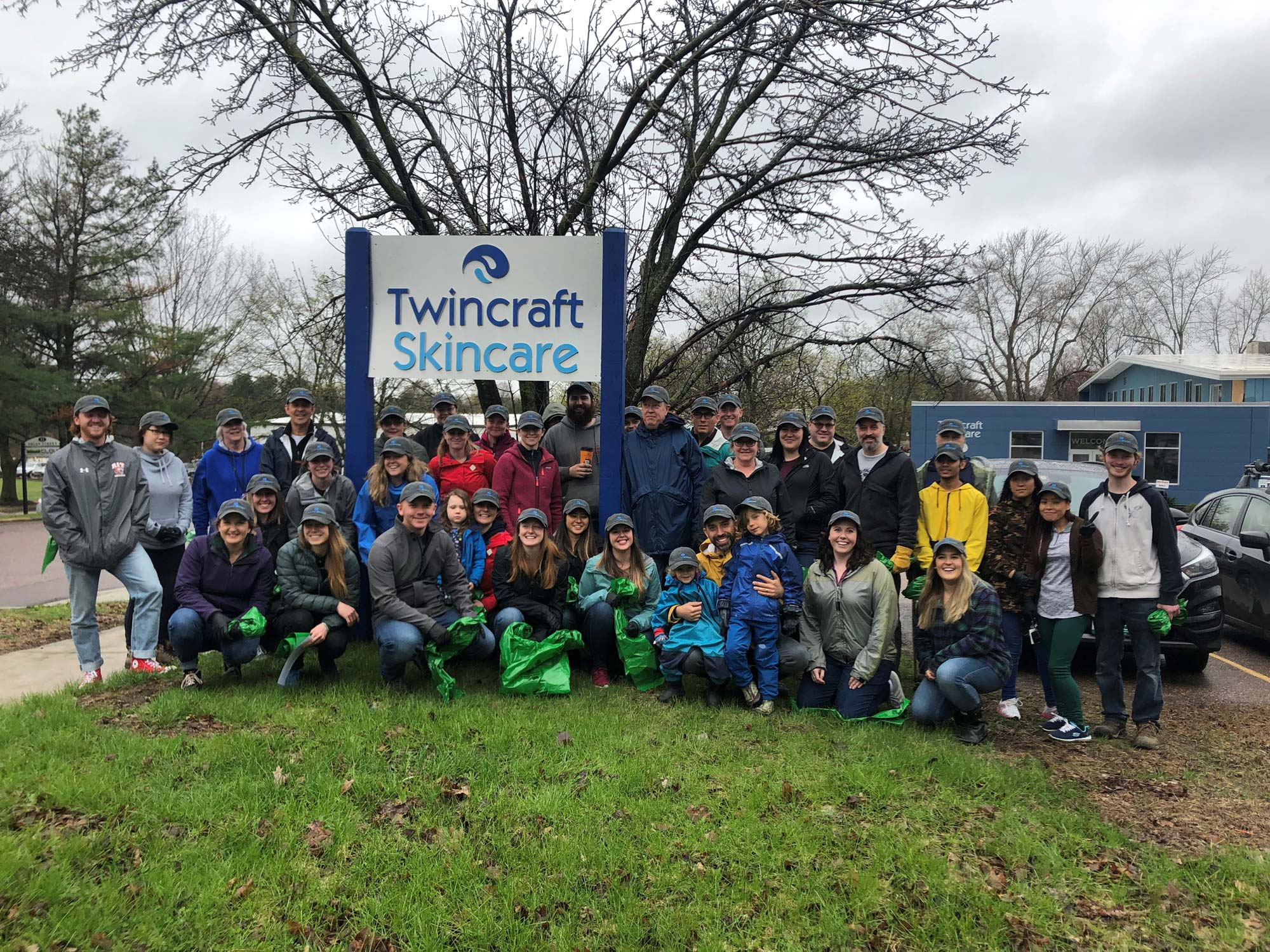 "Twincraft Skincare hosts ""Clean Up & Green Up"" event for VT Green Up Day"