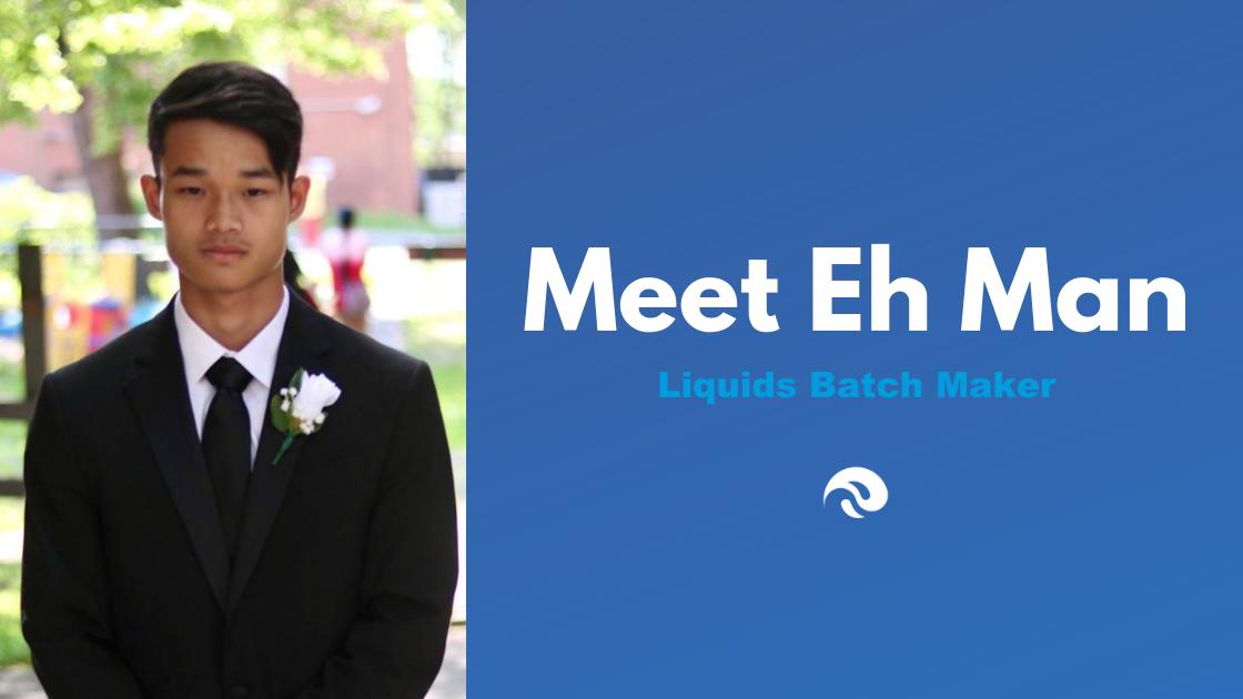 Meet Eh Man, Liquids Batch Maker