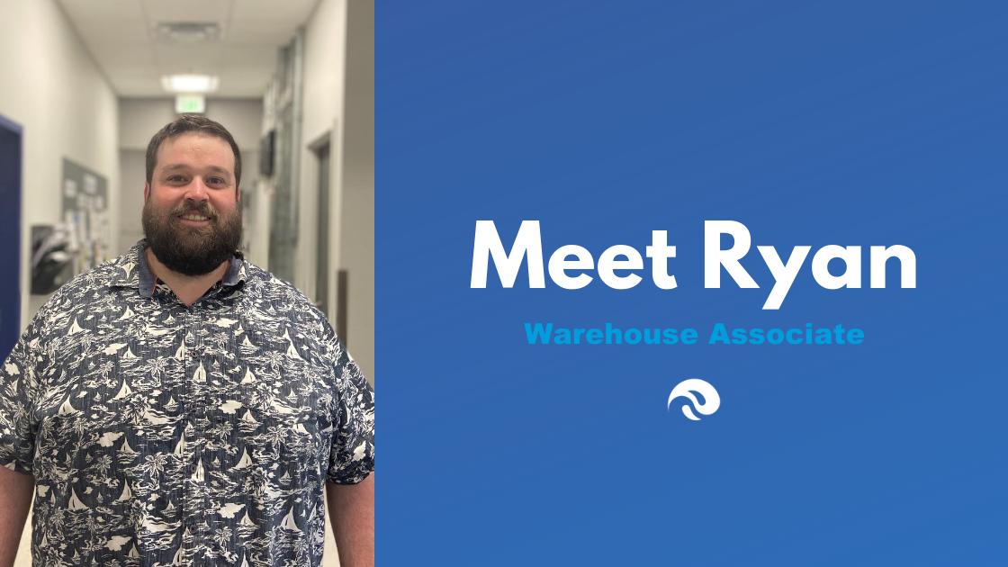 Meet Ryan Fitzpatrick, Warehouse Associate