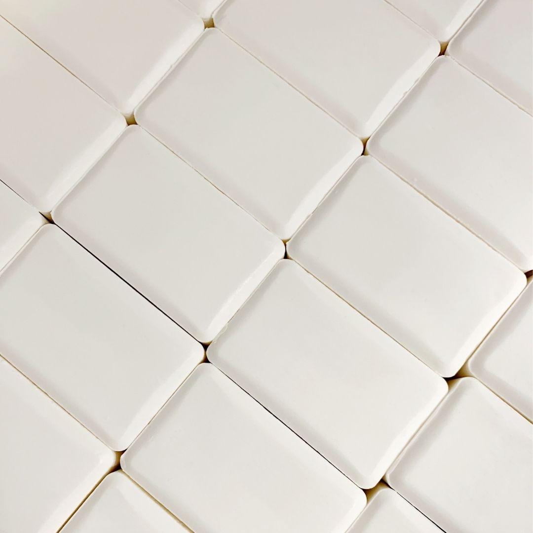 Tray of White Bars